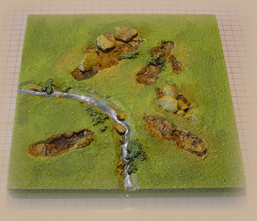 Wargame Innovations offer a range of miniature figure painting as well as bespoke wargame terrain tiles